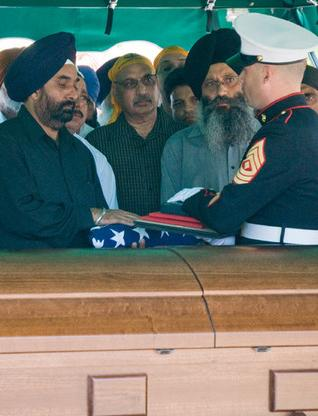 Slain Sikh Marine's Family Hurt by Donald Trump's Remarks About ...